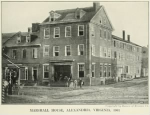 Marshall House, Alexandria, Virginia - place where Elmer Ellsworth was shot to death..jpg