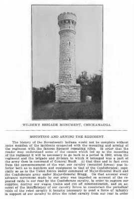 Souvenir, the Seventeenth Indiana Regiment 1913 Wilder Monument.PNG