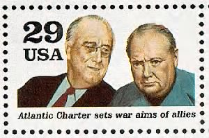 Franklin D. Roosevelt & Winston Churchill.gif