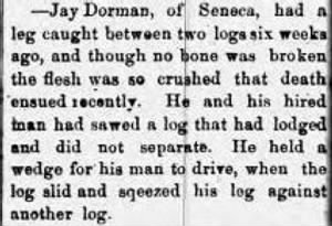 Jay Dorman 1873 Death.JPG
