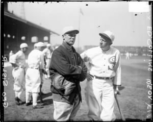 George Sisler and Eddie Collins,.jpg