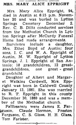 Mary Alice Cardwell Eppright 1955 Obit2.jpg