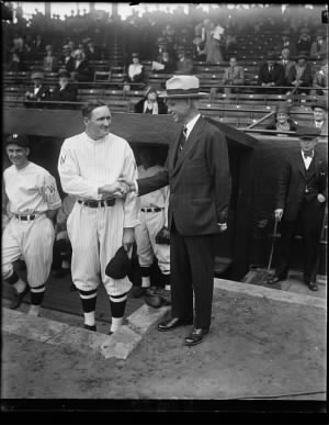 Walter Johnson, Clark Griffith.jpg