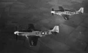2 North American P-51B Mustangs, 358th F.S., 355 F.G..jpg