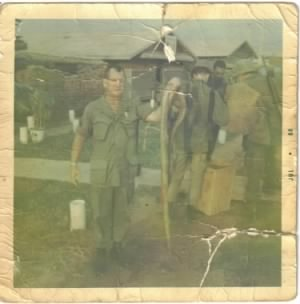 Jr Newton in Vietnam 1968 with Cobra snake 001.jpg