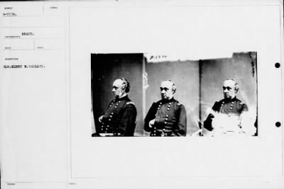 Mathew B Brady Collection of Civil War Photographs › B-5576 Gen. Henry W. Halleck. - Fold3.com