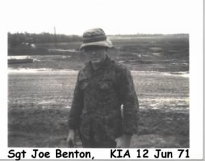 Carroll Joe Benton 1971