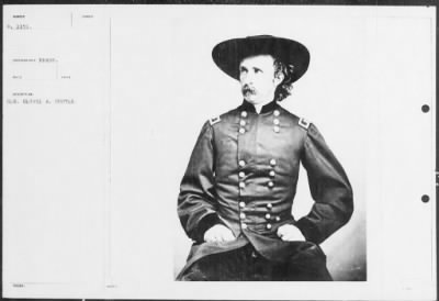 Mathew B Brady Collection of Civil War Photographs › B-1151 Gen. George A. Custer. - Fold3.com