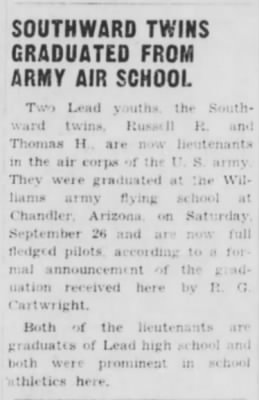 Southward Twins_Lead_Daily_Call_Thurs_08 Oct 1942_Pg 1.JPG