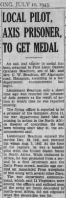 Beachum, Graham Carson_Daily Press_Newport News, VA_Sat_10 July 1943_Pg 7.JPG