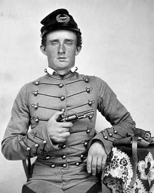 USMA Cadet George Custer